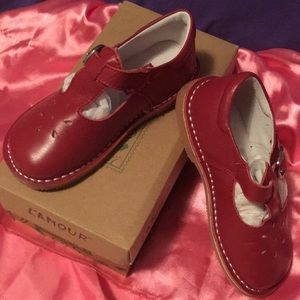 L'Amour Children's MaryJane Flats